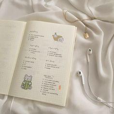 Bullet Journal Notes, Bullet Journal Aesthetic, Bullet Journal Spread, Bullet Journal Layout, My Journal, Bullet Journal Inspiration, Art Journal Pages, Scrapbook, Bujo