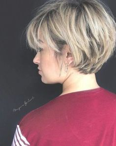 Chic Short Haircuts: Popular Short Hairstyles for 2019 58 Short Bobs Hair C. Chic Short Haircuts: Popular Short Hairstyles for 2019 58 Short Bobs Hair C. Chic Short Haircuts: Popular Short Hairstyles for 2019 58 Short Bobs Hair Cuts Hairstyles 2019 Popular Short Hairstyles, Bob Hairstyles For Fine Hair, Short Bob Haircuts, Hairstyles Haircuts, Short Bob Cuts, Haircut Bob, Long Pixie Cuts, Casual Hairstyles, Pretty Hairstyles