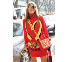 Street looks milan Anna Dello Russo, fashion editor-at-large et creative consultant de Vogue Japon
