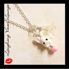 Easter Jewelry  Easter Necklace  Easter by LaughingVixenLounge, $18.00