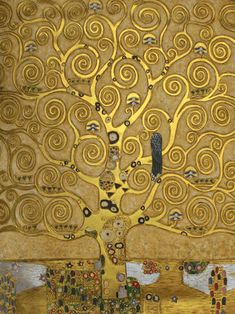 Gustav Klimt - Tree of Life (Luxury Line)