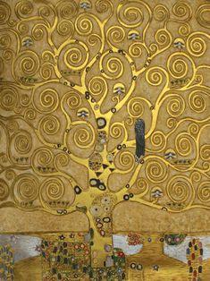 Gustav Klimt - Tree of Life (Luxury Line)