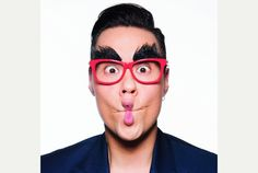 Spec-tacular cause: All eyes on Red Nose Day in Northampton with the help of Gok Wan   Northampton Herald & Post