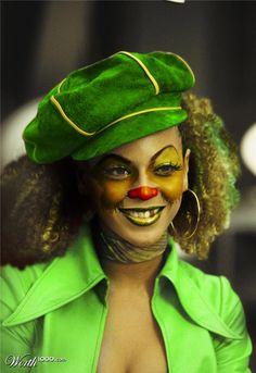 Beyonce' Clown