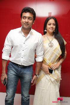 Surya and Jyothika at Pasanga 2 Movie Audio Launch
