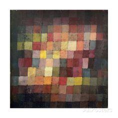 オールポスターズの パウル・クレー「Ancient Harmony, c.1925」ジクレープリント