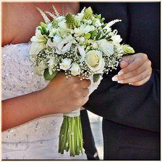 ramo novia blanco y rosa - Buscar con Google