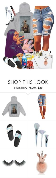 """💍"" by brandylovebrandy ❤ liked on Polyvore featuring Victoria's Secret, Unicorn Lashes and Kendall + Kylie"