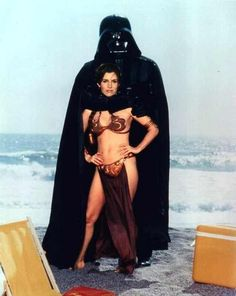 Princess Leia Organa - Star Wars - Return of the Jedi - Huttslayer - Slave Leia - Carrie Fisher - Rolling Stone shoot - Darth Vader Leia Star Wars, Star Wars Cast, Star Trek, Carrie Fisher, Bikinis Retro, Princess Leia Slave, Star Wars Princess Leia, Jedi Princess, Images Star Wars