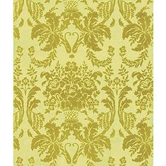 Tissue Paper Damask Tapestry. Great pattern idea for wallpaper.