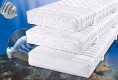 """My home 7-Zonen-Qualitäts-Tonnentaschenfederkern-Matratze »Der Klassiker« (baugleich mit """"Climasan Komfort T"""" des Herstellers f.a.n.) mit sehr guter Körperunterstützung (420 Stück Federn bei einem reinen Federkernmaß von 100x200 cm). Die 7 ergonomisch angepassten Körperzonen des flexiblen Kerns mit Vitacel®-Komfortschaumpolsterung auf beiden Seiten reagieren auf jede Bewegung. Der anschmiegsame..."""