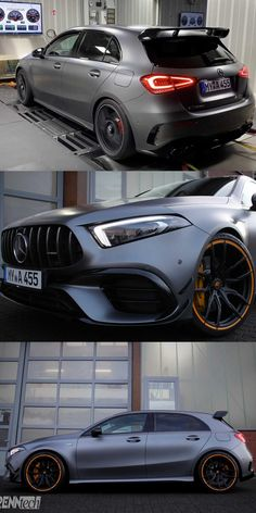 The Mercedes-AMG S is one of the most extreme hot hatchbacks ever made, let alone one of the nicest. Bmw Sports Car, Sport Cars, Mercedes Car, Mercedes Benz Amg, Honda Cars, Honda Auto, Classe A Amg, Benz Suv, Motogp Valentino Rossi