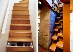 More unusual staircases for small spaces