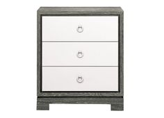 A great mix of clean and character - bedside table from Bungalow 5