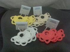"""Crochet Earrings - """"Emma"""" #handmade #etsymnt"""