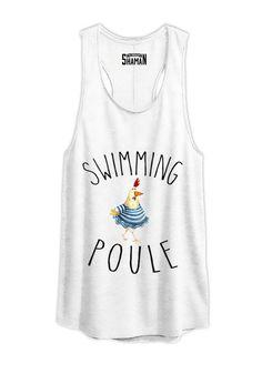 """Tunique """"Swimming Poule"""""""