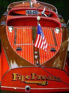 Wood Boat - Pipe Dream