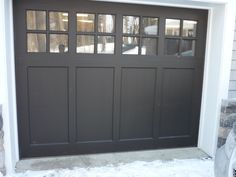 Within the previous ten years that unfavorable view of the garage has changed considerably. Climatizing the garage has actually become much more than an afterthought. Basement Remodel Diy, Garage Remodel, Basement Remodeling, Garage Door Styles, Garage Door Design, Diy Garage Door, Transformer Un Garage, Garage Plans With Loft, White Exterior Houses
