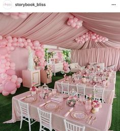 Do you want to make a wedding decoration more luxurious? Here we present the 40 Best Inspiring Wedding Decoration Ideas. May you inspire and make wedding decorations as you wish from this article. Shower Party, Baby Shower Parties, Baby Shower Themes, Baby Shower Decorations, Bridal Shower, Shower Cake, Balloon Decorations, Baby Shower Princess, Princess Party