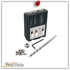 Designed for use with the Kreg Jig® or Kreg Jig® Master System. woodwerks.com #woodworking #Kreg #Tools #DIY
