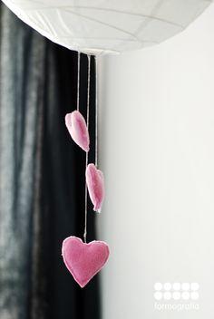 Valentine' hand made decoration