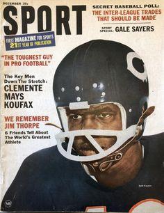 Sports Magazine Covers, Gale Sayers, Jim Thorpe, Sandy Koufax, Sports Gallery, Willie Mays, Sport One, Football Helmets, Football Team
