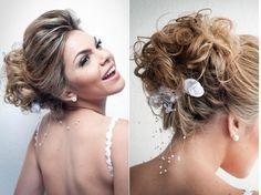 Penteado para noivas com cabelo preso