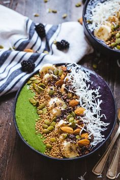 Green Monster Smoothie Bowl from The Blonde Chef