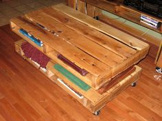 Pallet wood entertainment Center by PalleTree on Etsy