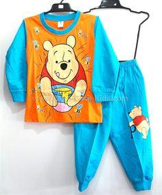 ชุดนอนเด็กหมี Pooh ขนาด S* L* ~ 359.00 บาท >>