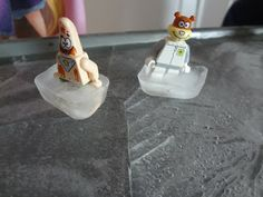 create an ice skating rink for you Lego minifigs..or princesses