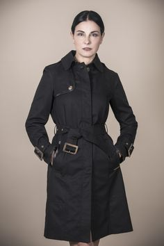 Woman Trench Coat BLACKPOOL