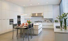Farbe Grau -visuelle-effekte-küche-wohnkueche-kunstbild ...
