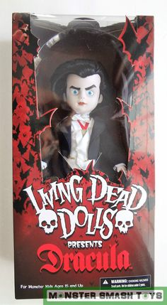 LIVING DEAD DOLLS SERIES 31 DTOTL UMBRAL HORROR TOY ACTION FIGURE COLLECTIBLE