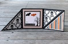Halloween card - see my post for template - http://papervinenz.blogspot.com/2011/10/halloween-tri-fold-card-echo-park.html
