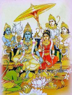 Tanjore Painting, Krishna Painting, Krishna Art, Hanuman Images, Krishna Images, Ileana D'cruz, Lord Rama Images, Sri Rama, Lord Vishnu Wallpapers