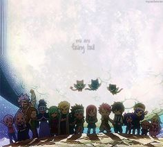 Chibi Fairy Tail and well I'm not there