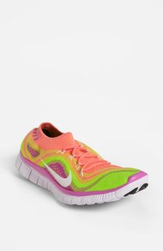 Nike 'Free Flyknit' Running Shoe
