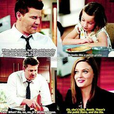 Yep that is definitely Dr. Temperance Brennan's kid