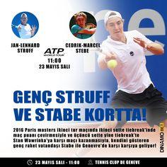Banque Eric Sturdza Geneva Open tüm hızıyla sürüyor  www.dinamobet23.com #dinamobet #cedrikmarcelstabe #janlennardstruff