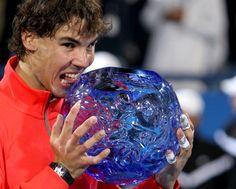 Rafa to play Abu Dhabi Christmas Bulbs, Holiday Decor, Rafael Nadal, Tennis News, Abu Dhabi, Clay, King, Crystals, Glass