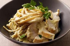 Weight Watchers Chicken and Pasta Alfredo