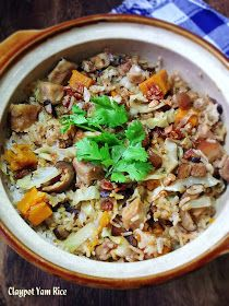Weekend is just less than an hour from now and here I am sharing 3 hearty one pot dish recipes which you might be interested to take a lo. Rice Recipes, Meat Recipes, Asian Recipes, Crockpot Recipes, Ethnic Recipes, Chinese Recipes, Chinese Food, One Pot Dishes, Rice Dishes
