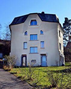 Mehrfamilienwohnhaus Jevseenko beim Rüttiweg, erbaut 1934. Architektur von Carl Kemper und Otto Moser.