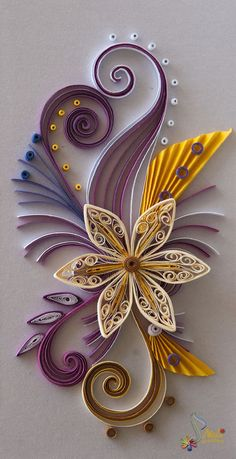 Learning point how to quill using quilling strips for How to use quilling strips