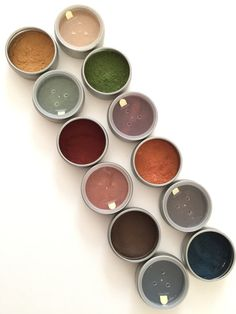 Organic Herb Eye Shadows Safer Non-Mineral by DabHerbMakeup