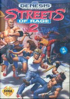#Sega #genesis - Streets of rage 2 - #megadrive