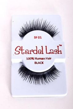 BLACK DRAMATIC SUBTLE LENGHT FALSE LASHES