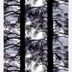 Kelohonka Shower Curtain Lilac   Fab.