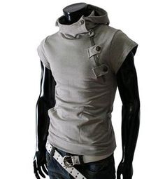 Mens Edgy Hoodie Shirt is part of Clothes Mens Moda - Mens edgy hoodie shirt for the stylish fashionista Trendy design offers a unique stylish look Great for the workplace or casual outings Made from high quality material Available in 5 colors Cyberpunk Mode, Cyberpunk Fashion, Cyberpunk Clothes, Mode Masculine, Mode Sombre, Style Masculin, Short Sleeve Hoodie, Character Outfits, Mens Clothing Styles